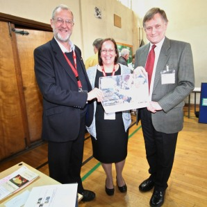 John Battle, Carol Cross and Hugh Bailey MP