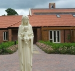 Statue of Our Lady and the Infant Jesus at Thicket Priory