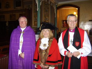 Lord Mayor and two bishops