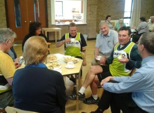 Donald meeting with CAFOD supporters