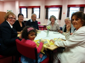 Parishioners from the Holy Name of Mary held a frugal lunch for CAFOD (1)
